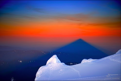 Mt. Hood shadow