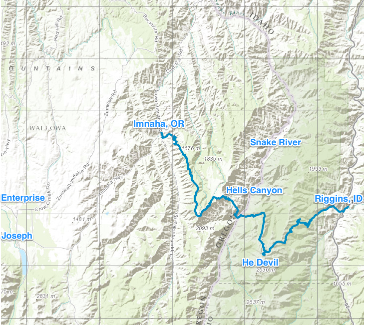 hells_canyon_traverse_map