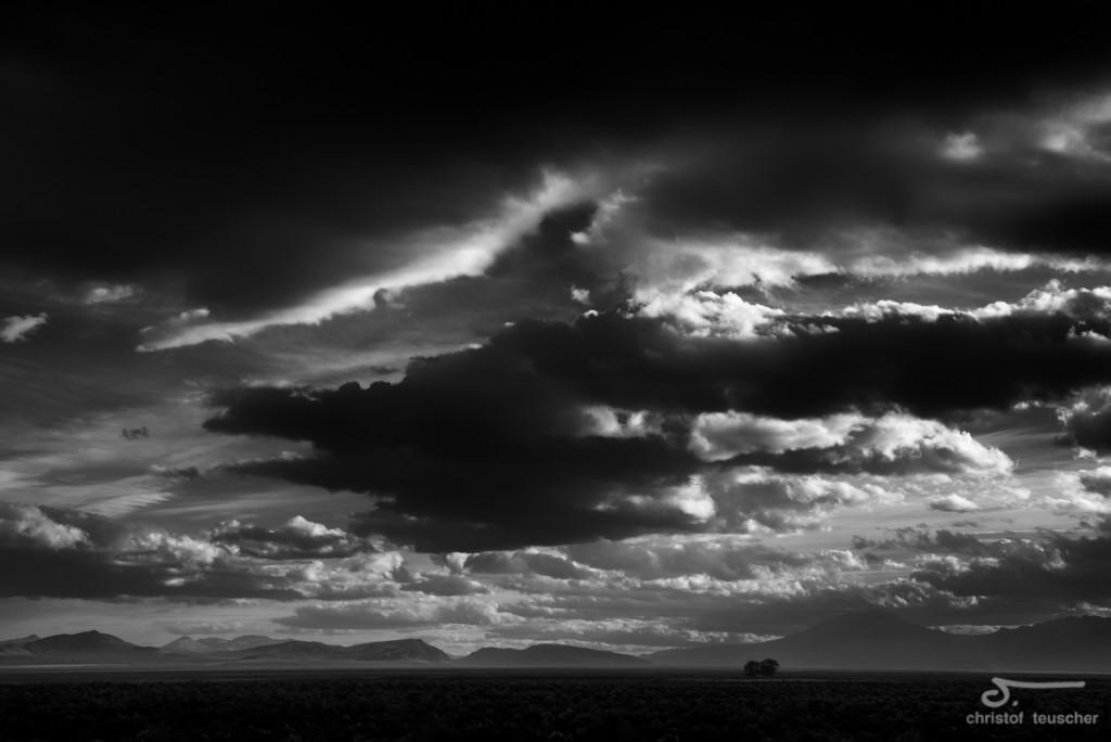 Wandering clouds